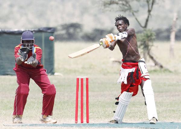 Maasai batsman