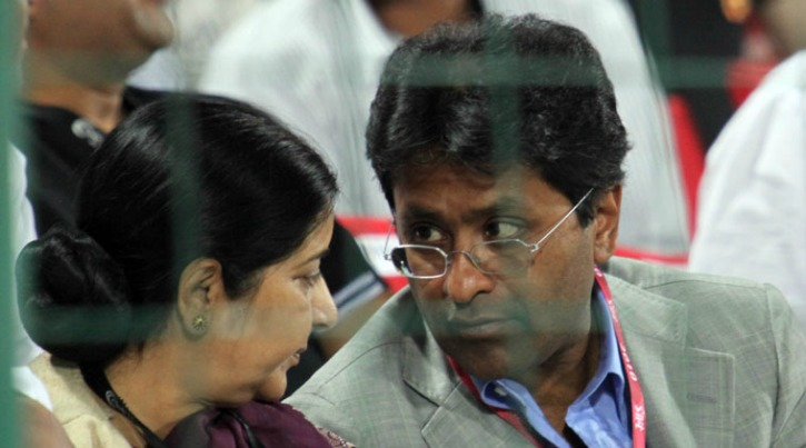 Sushma swaraj - politcos who were in trouble due to Lalit Modi