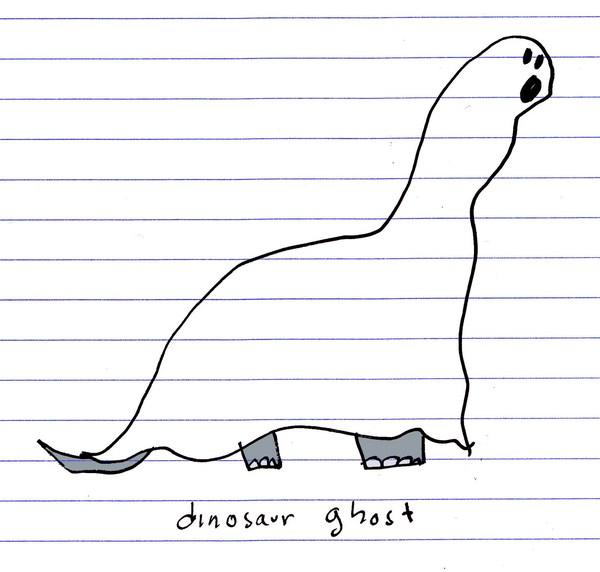 dinosaur ghost