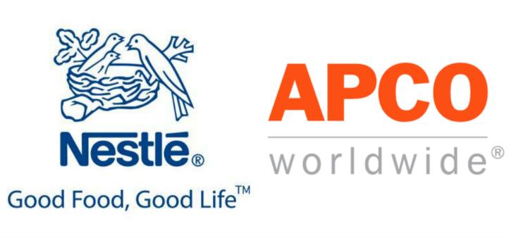 Nestle and apco