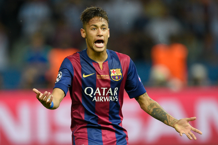 Neymar denied gaol ucl final
