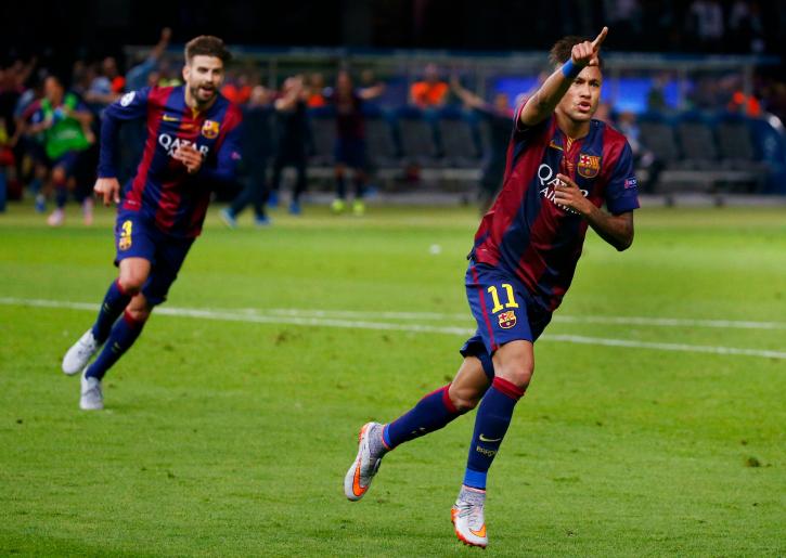 Neymar scores 3-1 barca