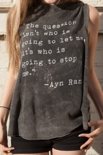 cool quote on tee