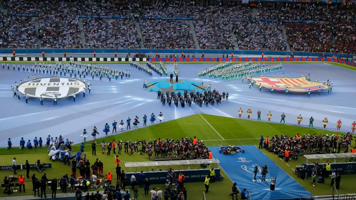 Uefa champions league final 2015 opening
