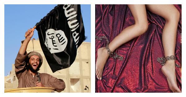 ISIS happy terrorist sex slave