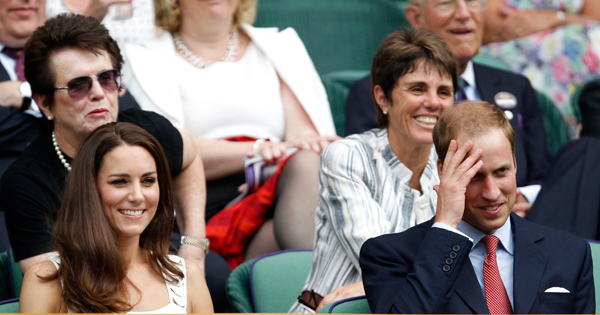 The British Royal family have been in attendance in Wimbledon since 1907.