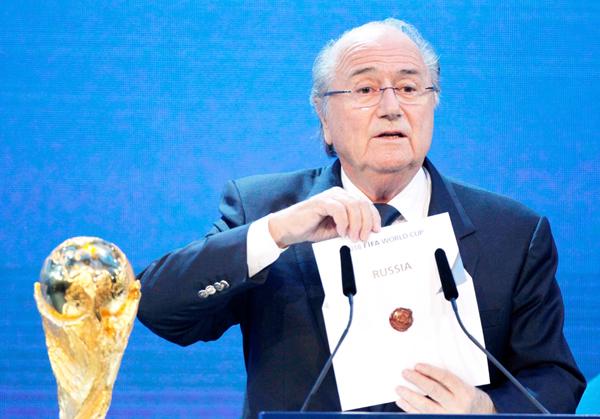 Russia gets 2018 World Cup bid