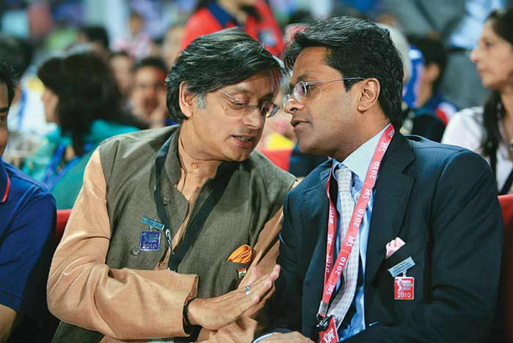 shashi tharoor - politcos who were in trouble due to Lalit Modi