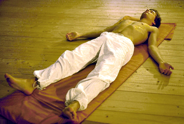 He craved for sleep yoga helped him