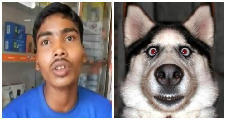 Soumyadeep Mahato got a dogs face printed in his admit card