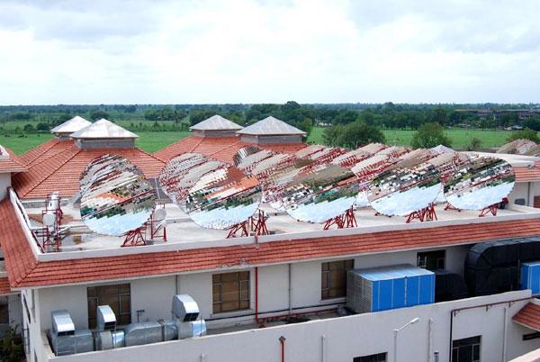 solar rooftop at shirdi