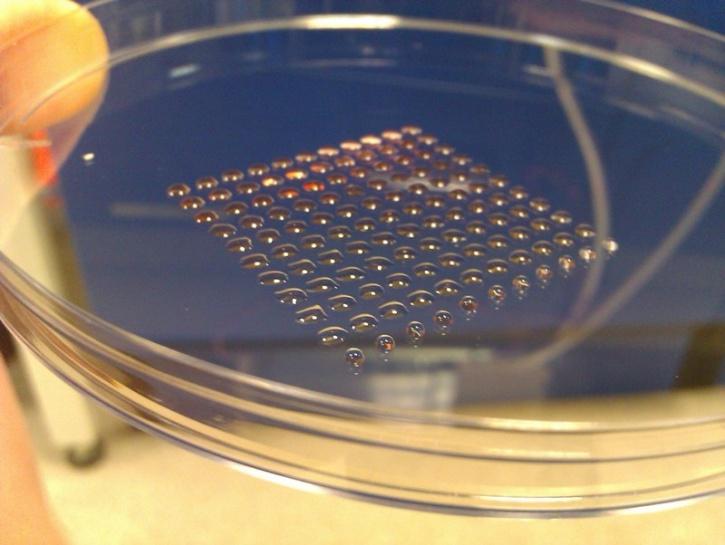 3D Printed Stem Cells