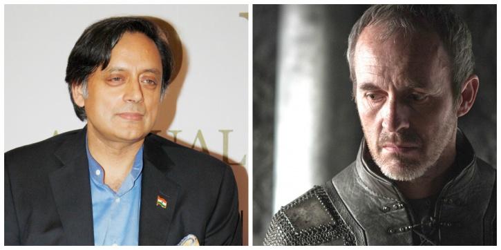 Shashi Tharoor and Stannis Baratheon