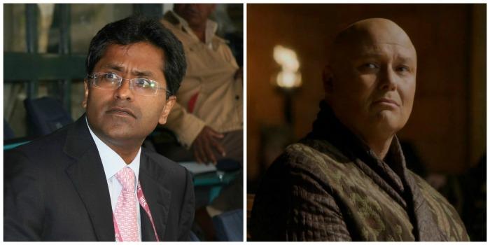 Lalit Modi and Lord Varys