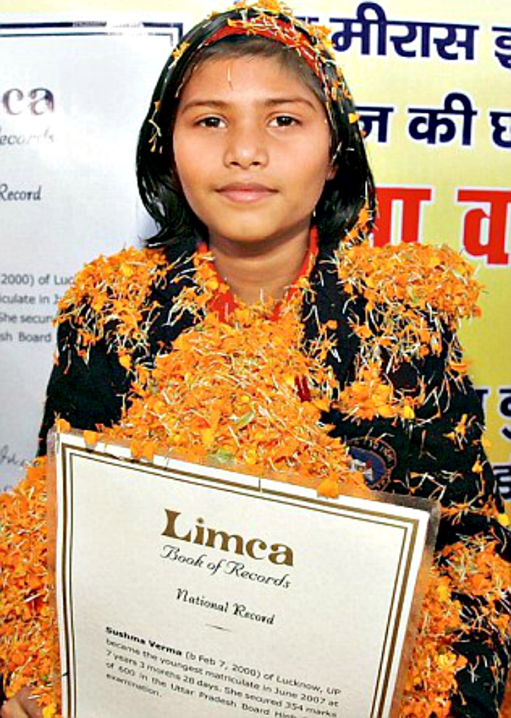 Sushma Verma is part of Limca Book Of Record