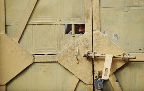 Tihar Jail gate