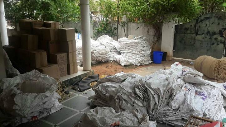 Supplies for Chennai Coastal Cleanup