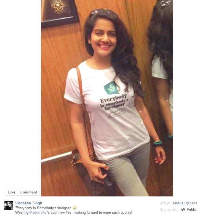 Vishakha singh fb post