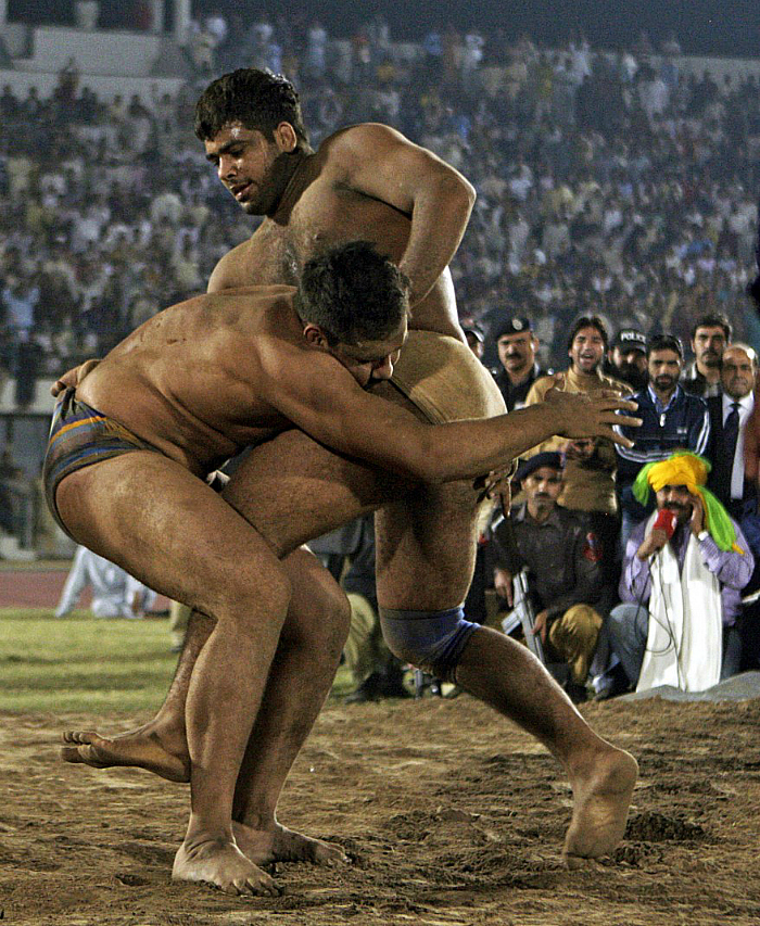 pakistan wrestling