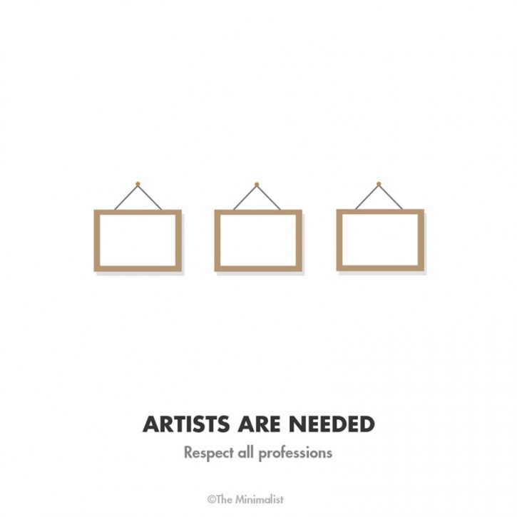 Artists are needed