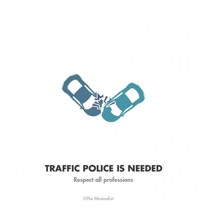 Traffic Police is needed