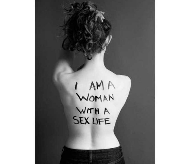 I am a woman with a sex life