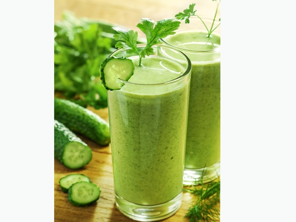 Healthy Juice Recipe: Apple Cucumber Juice