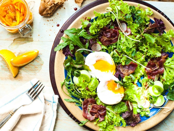 Healthy Breakfast Salad Recipe