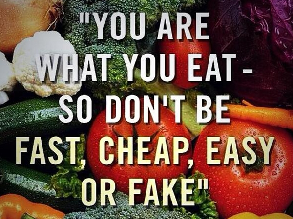 Are You Eating Real Food?