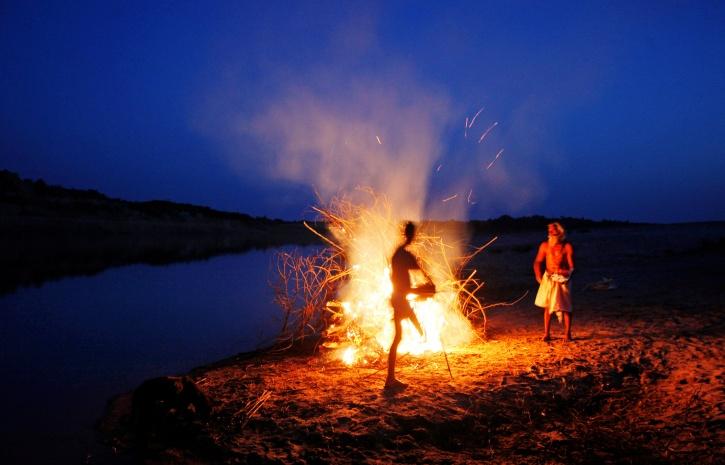 Near Chambal river