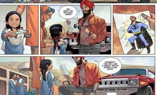 Super Sikh Deep Singh