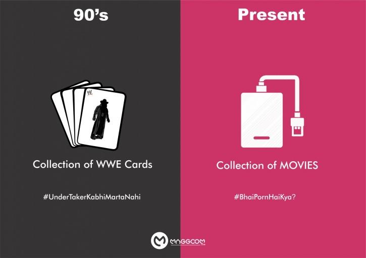 90s vs present