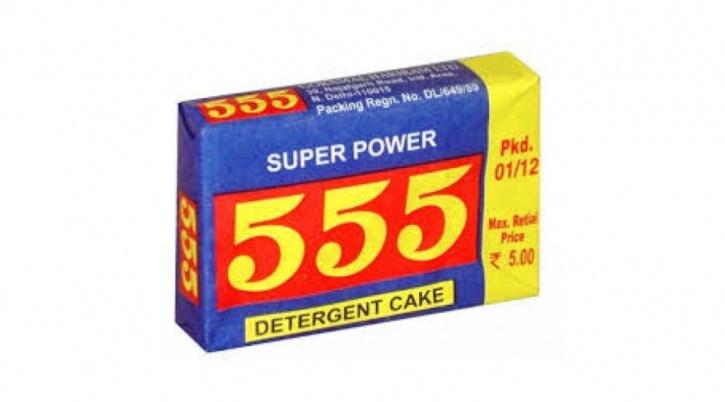 555 Detergent Cake
