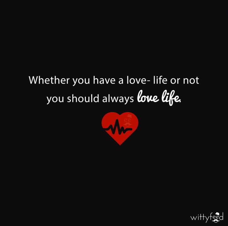 love life witty feed posters