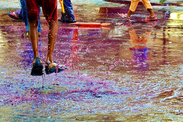 Dirty messy Holi
