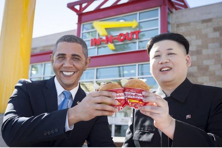 Obama and Kim Jong Un