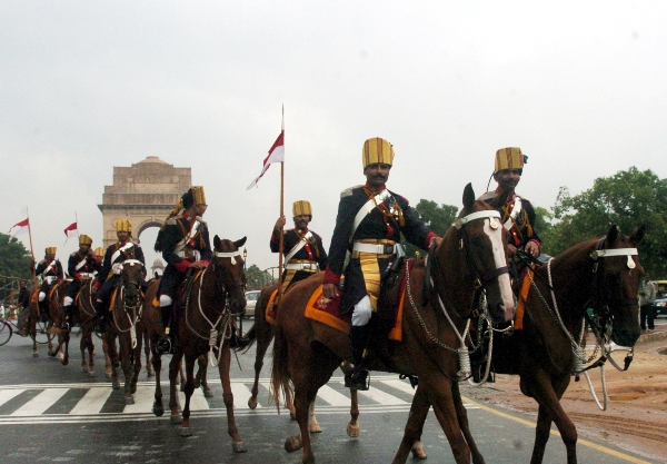 Horsed cavalry regiment Indian Army