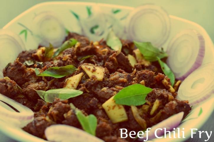 Beef Chili Fry