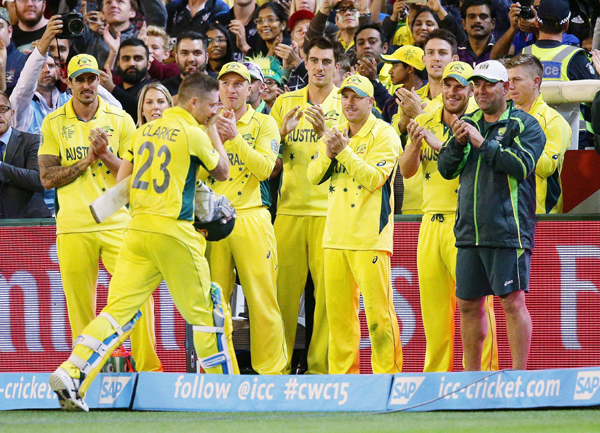 Clarke emotional after fifty