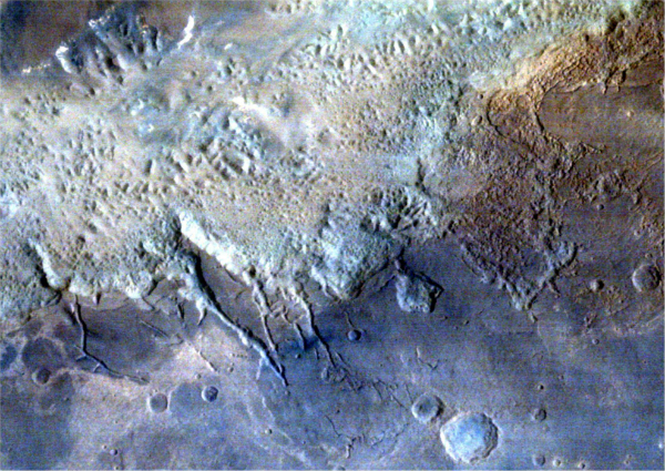 Eos chaos clicked by Mars Orbiter Mission