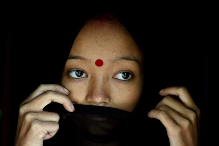 HIV victim india