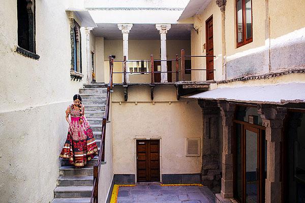 Indian Bride Running