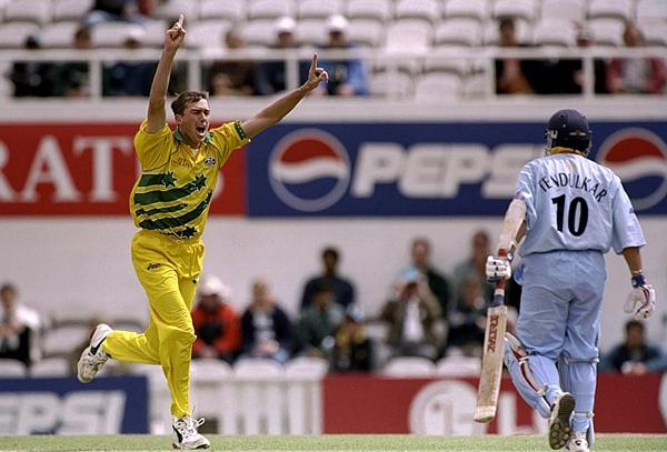 McGrath Sachin 1999 WC
