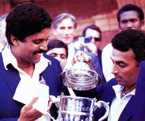 Kapil Dev and Sunil Gavaskar