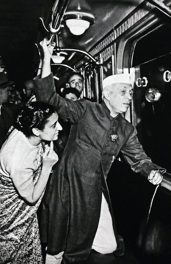 Nehru and Indira