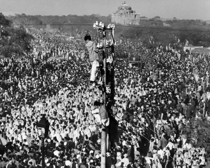 Gandhiji funeral