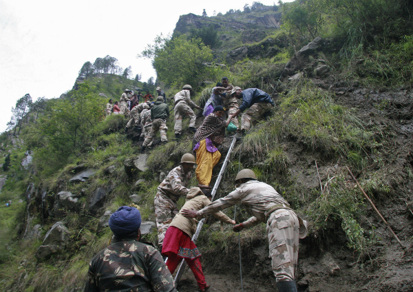 indian army flood rescue