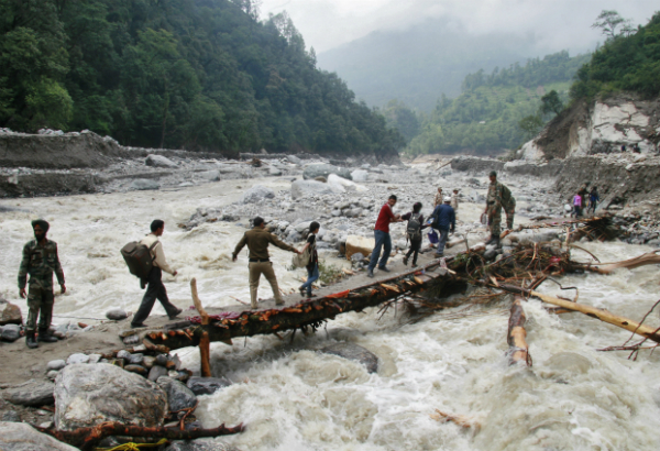 indian army flood relief