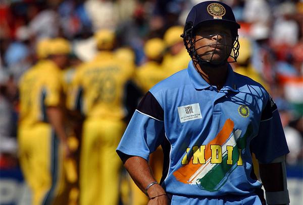 Sachin out 2003