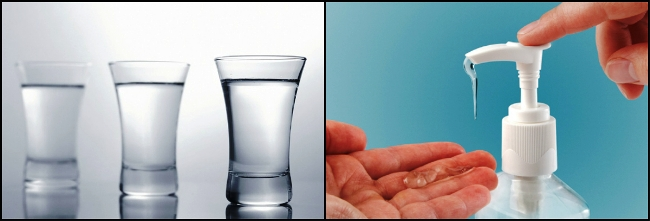 Vodka/Sanitizer